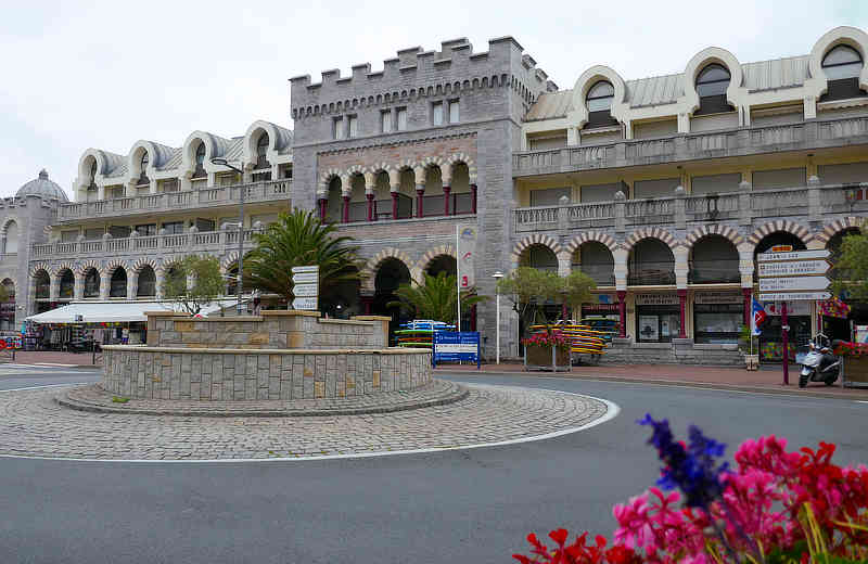 Altes Casino in Hendaye