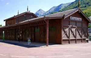 Der alte Bahnhof in Cauterets