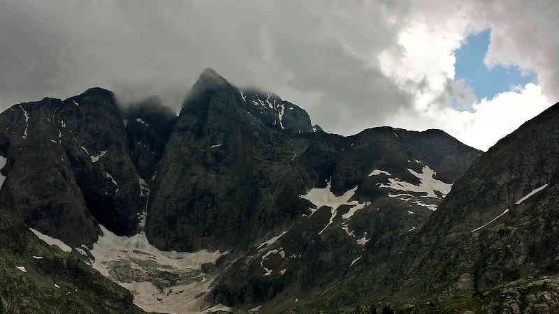 Der majestätische Vignemale mit dem Glacier des Oulettes
