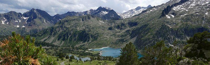 Lac d'Aumar und Lac d'Aubert im Réserve Naturelle Nationale du Néouvielle