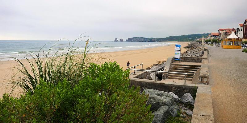 Strand von Hendaye / Hendaye beach