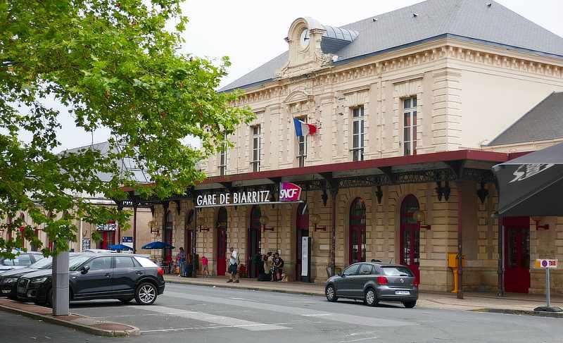 Der Gare de Biarritz