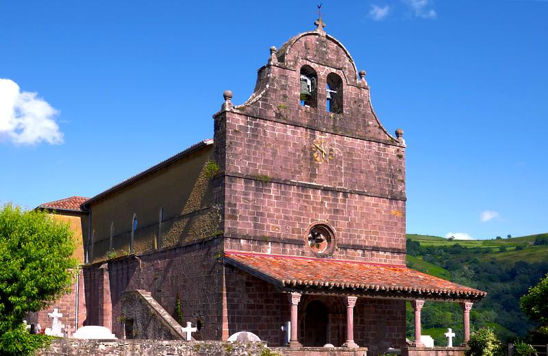 Die Kirche von Bidarray, Église Notre-Dame-de-l'Assomption